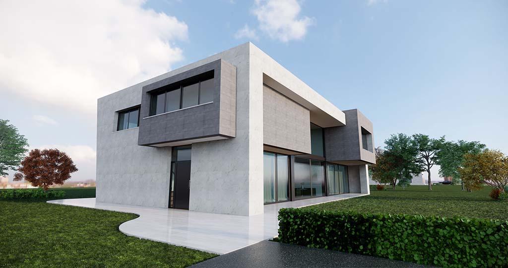 Diseño casa moderna PARTERA 1