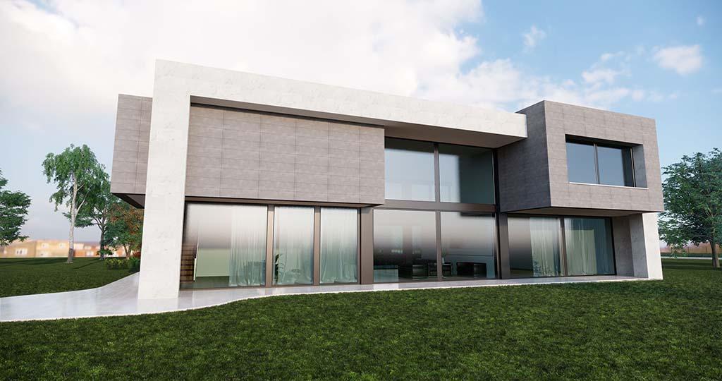 Diseño casa moderna PARTERA 2