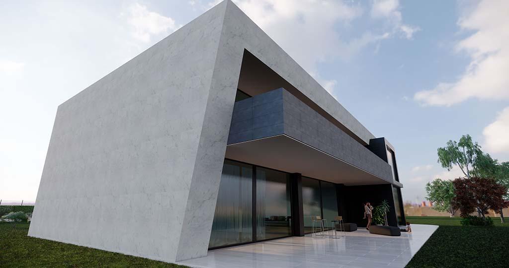 Diseño casa moderna PARTERA 3
