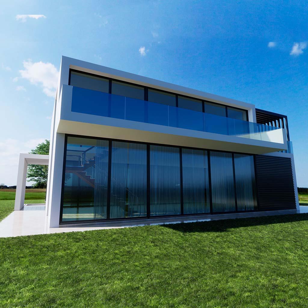 Diseño construccion casa NEOS 1