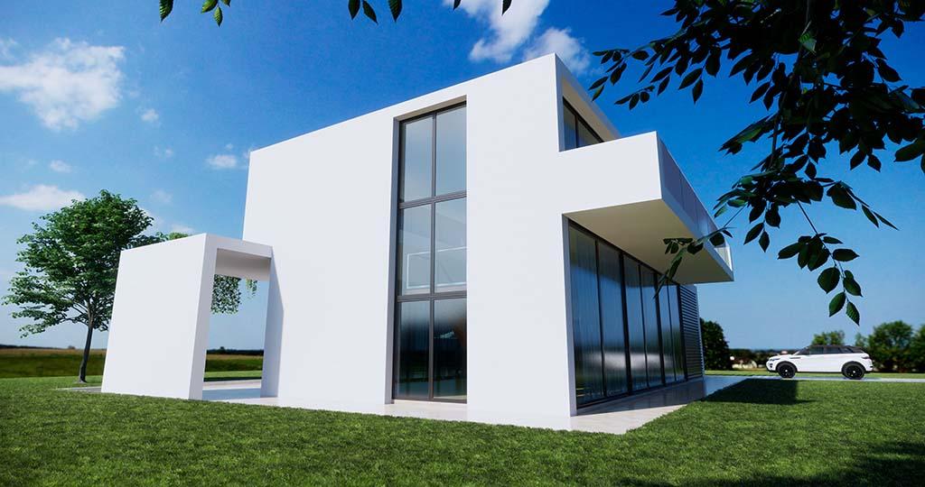 Diseño construccion casa NEOS 4