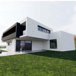Dise os de casas y chalets modernos r sticos y - Precio m2 construccion chalet ...