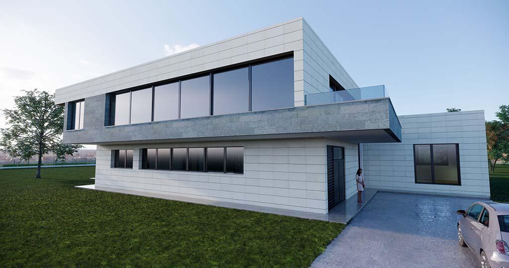 Diseño construir casa MONTE 1