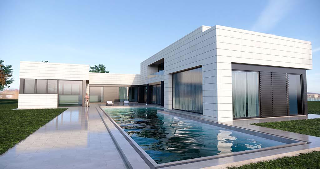 Diseño construir casa MONTE 2