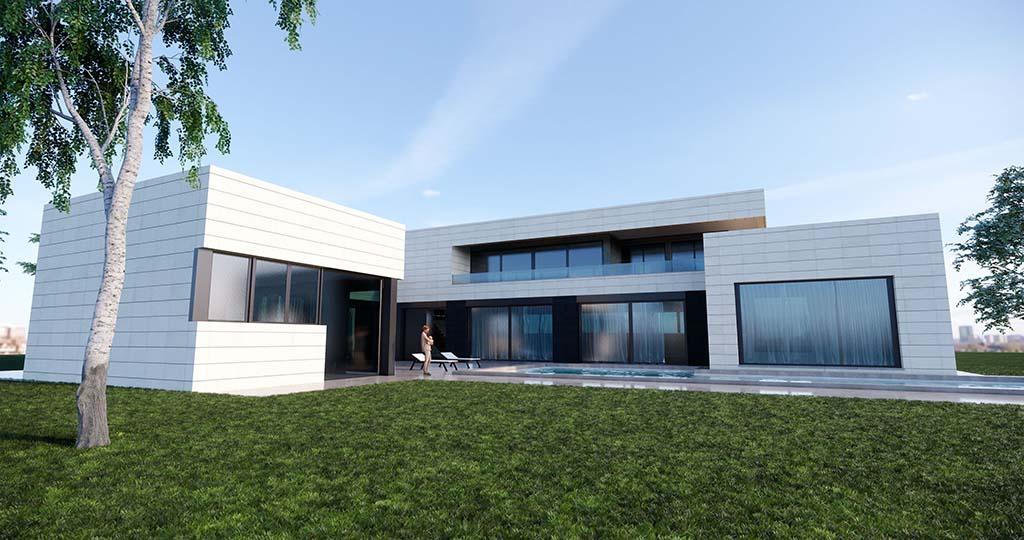 Diseño construir casa MONTE 3