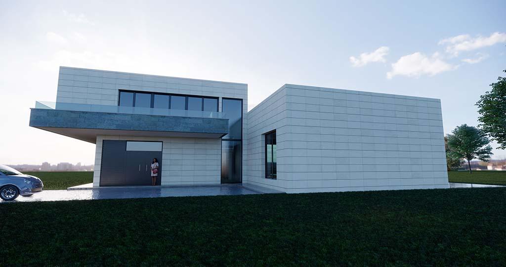 Diseño construir casa MONTE 4