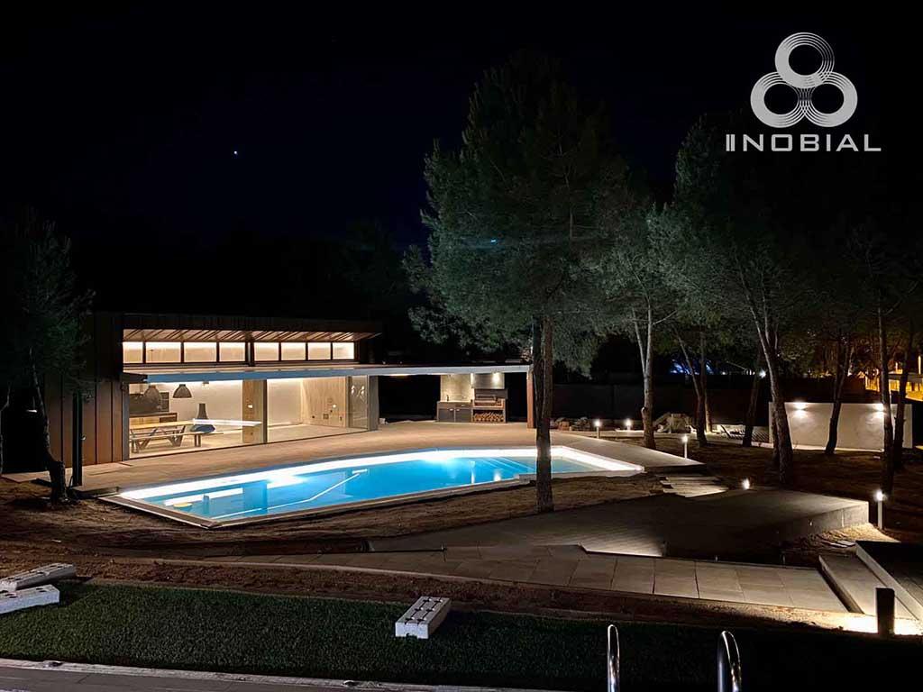 Casa INOBIAL logo noche