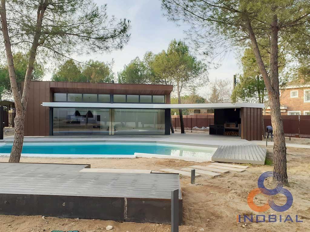 Construccion casa moderna Madrid 1