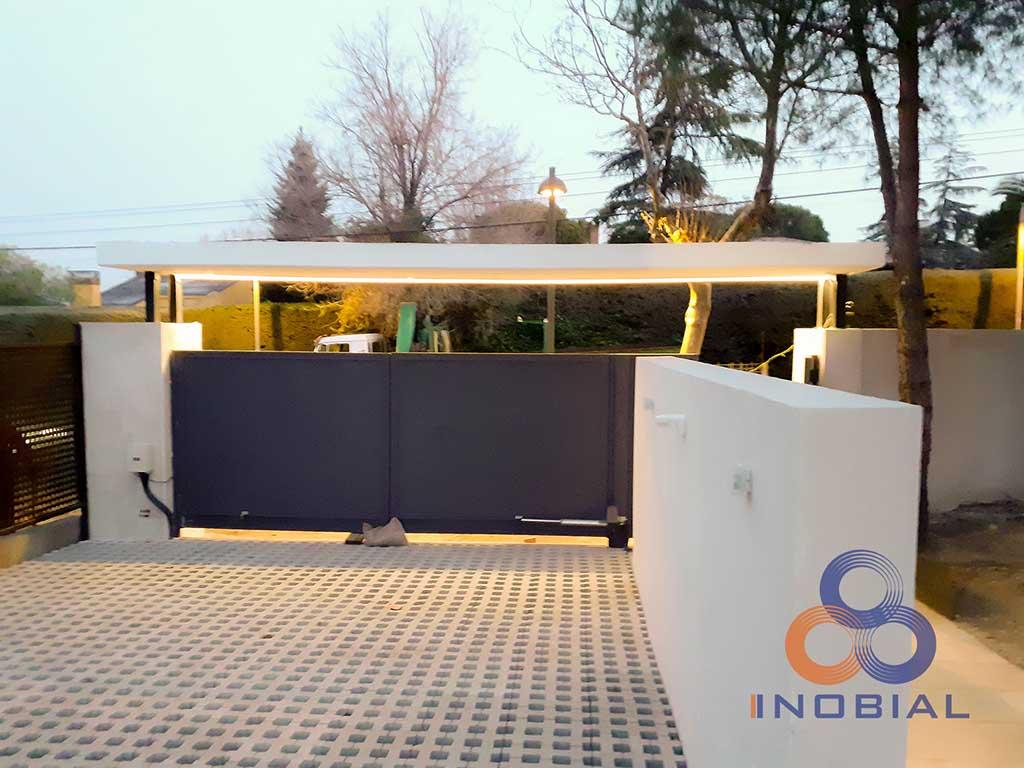 Construccion casa moderna Madrid 10