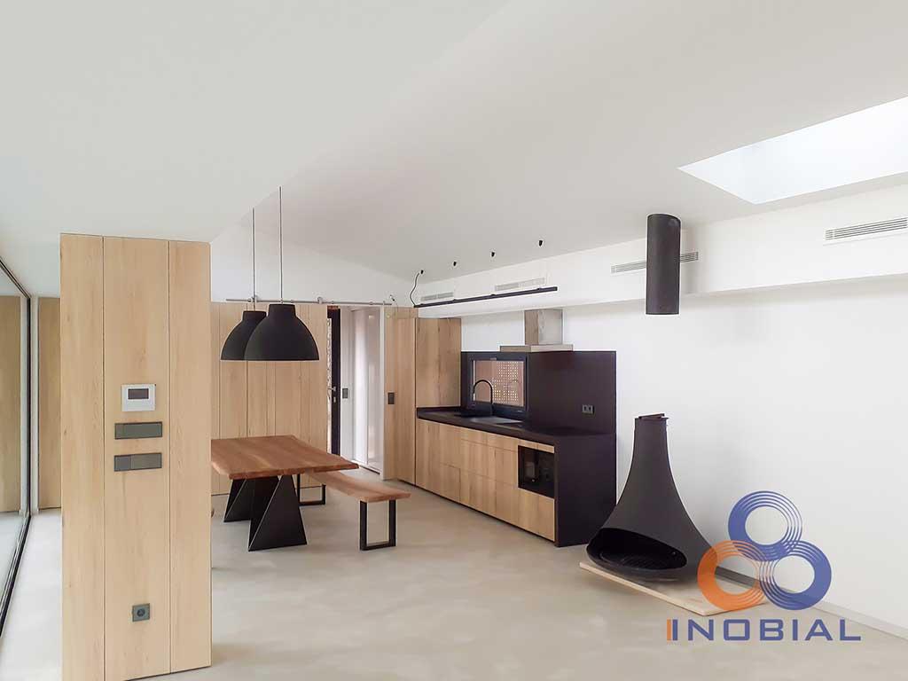 Construccion casa moderna Madrid 2