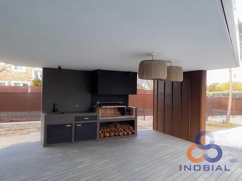 Construccion casa moderna Madrid 3