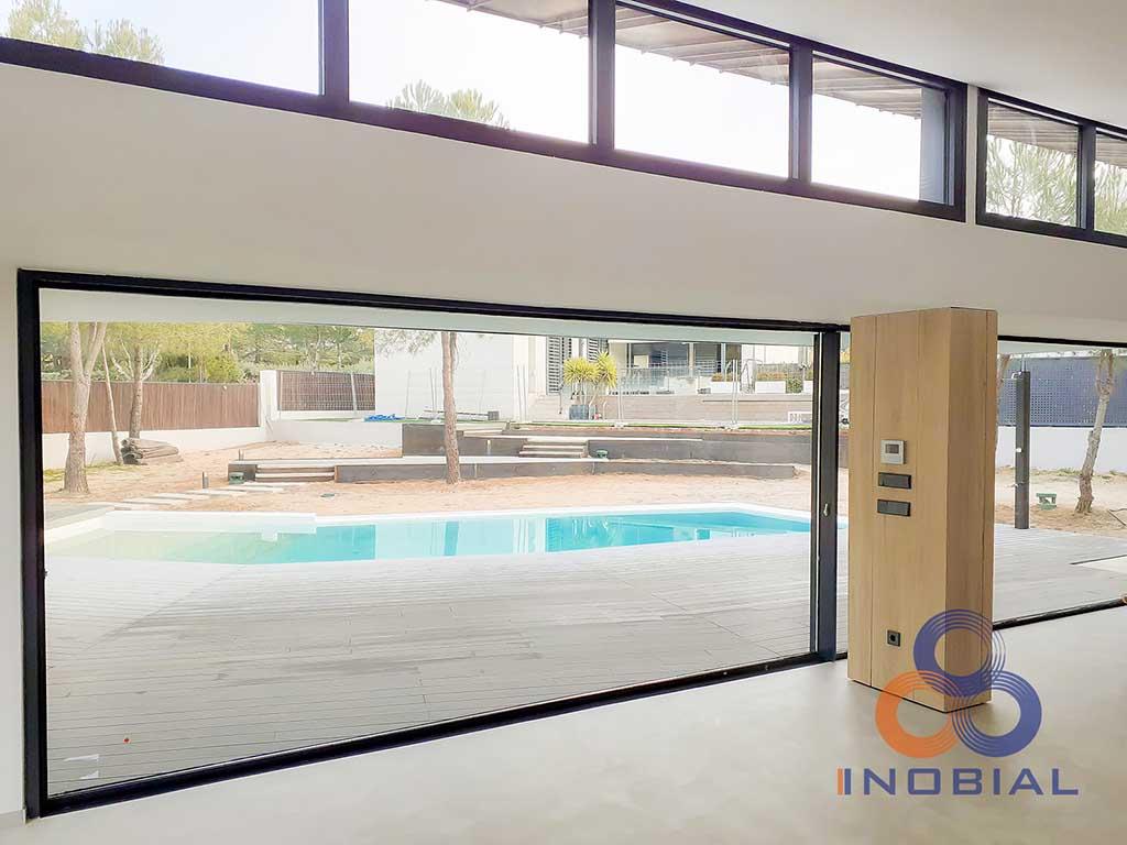 Construccion casa moderna Madrid 9