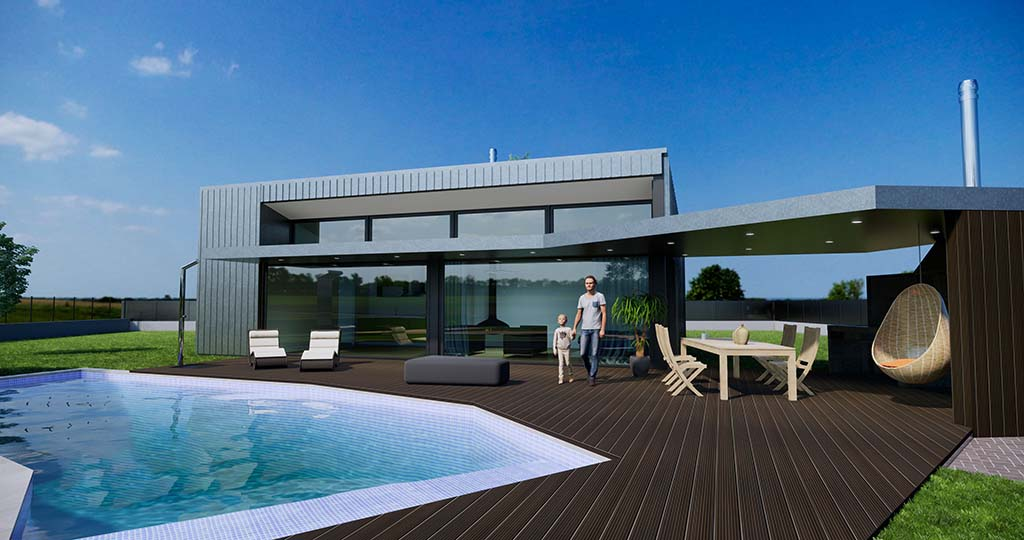 Diseño chalet construir Madrid 1