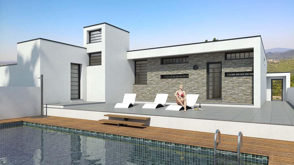 Construccion casa SERENIAL Diseño 2