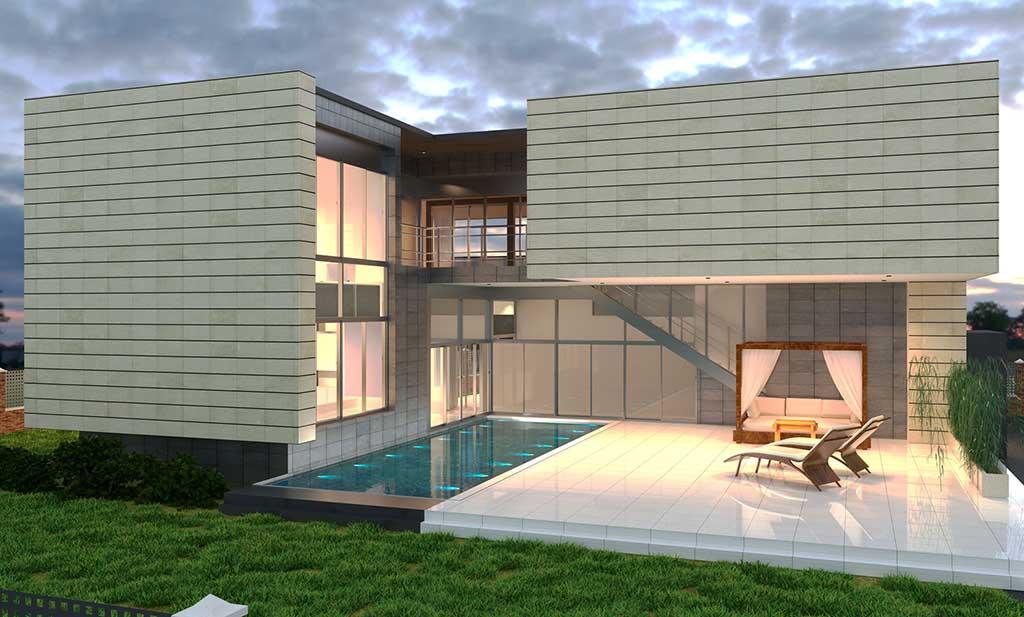 Diseño Construccion casa ELOM 3