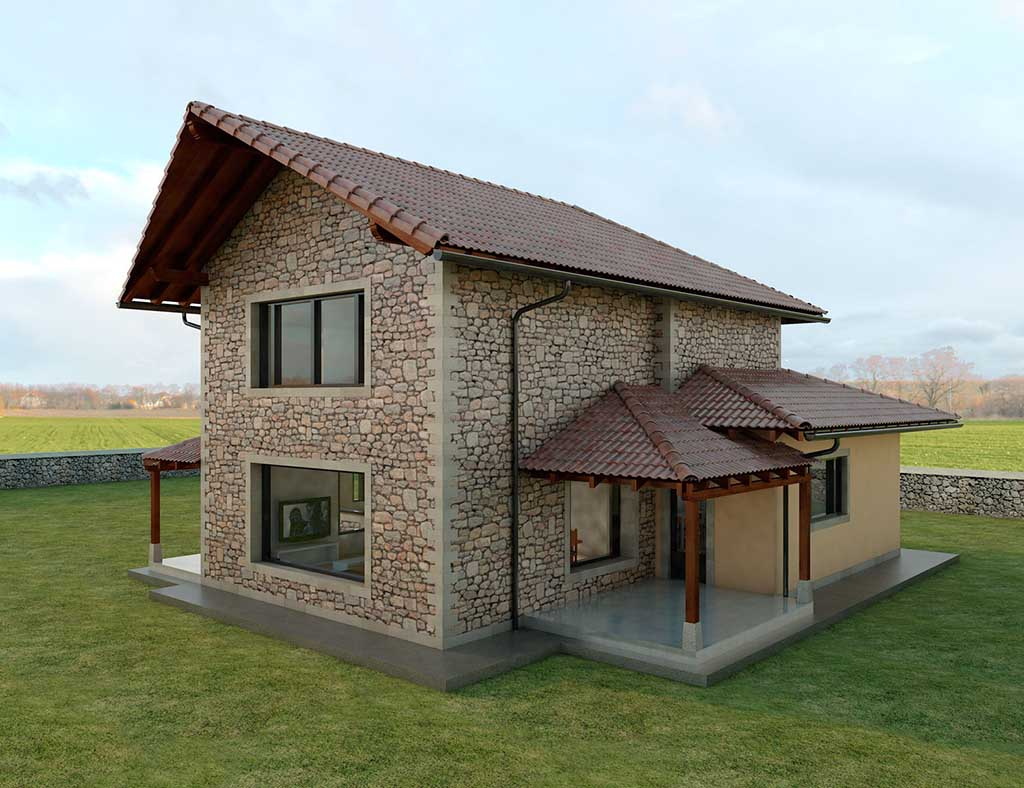 Diseño Construccion casa LAMERIA 3