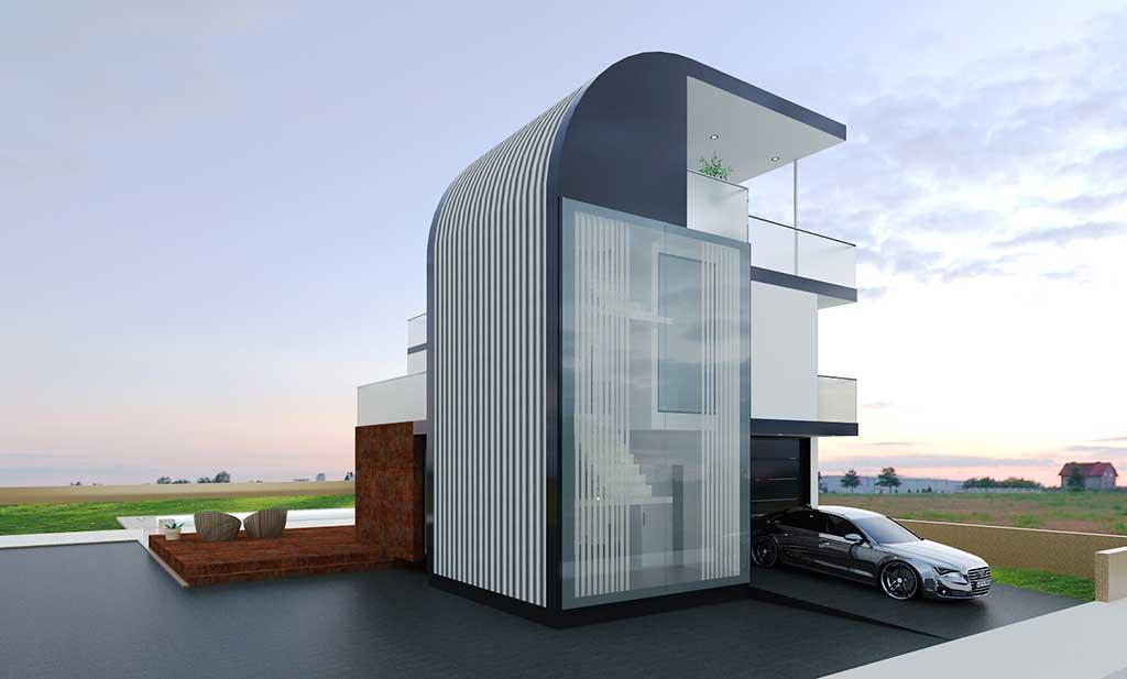 Diseño Construccion casa LYON 1