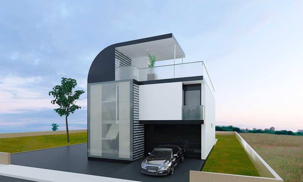 Diseño Construccion casa LYON 2