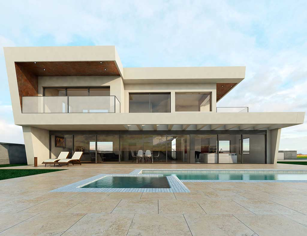 Diseño Construccion casa LYRE 1