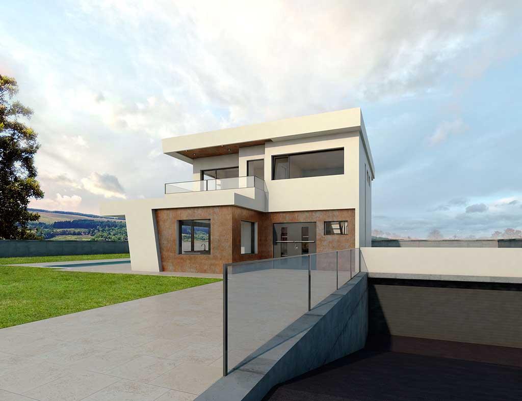 Diseño Construccion casa LYRE 2