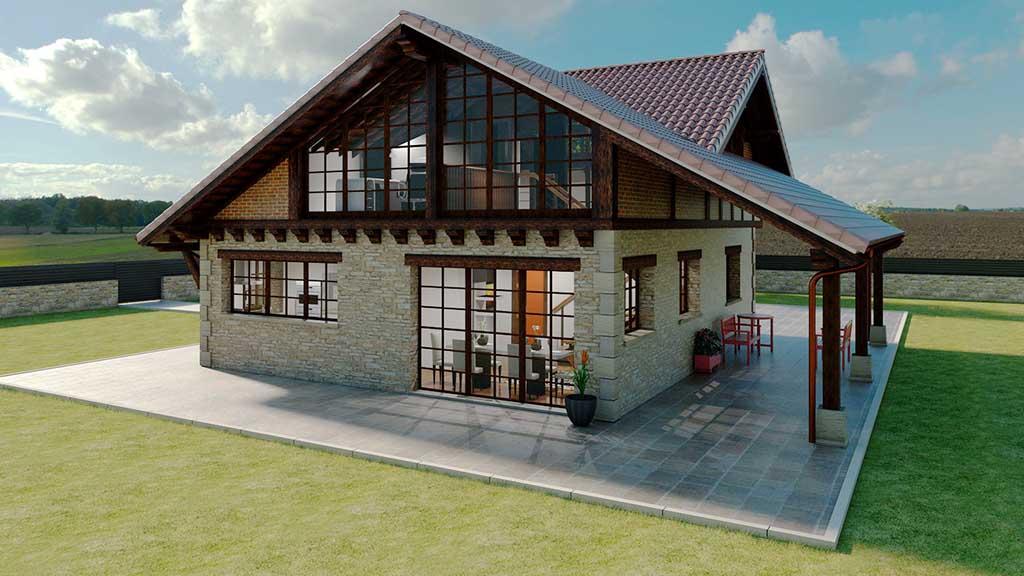 Diseño Construccion casa XENTO 2