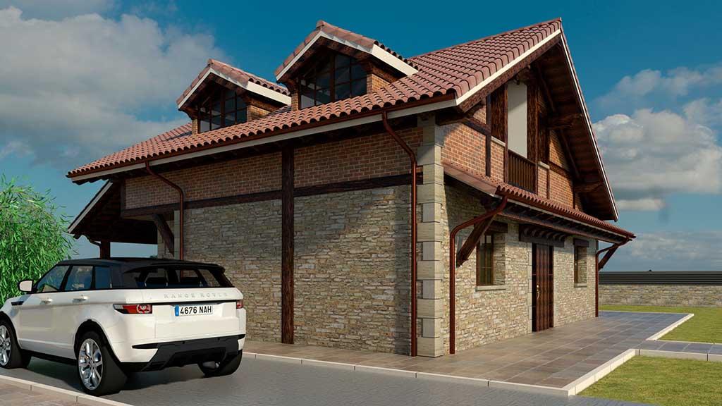 Diseño Construccion casa XENTO 3