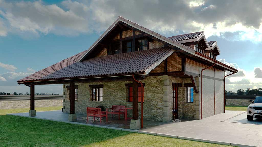 Diseño Construccion casa XENTO 4