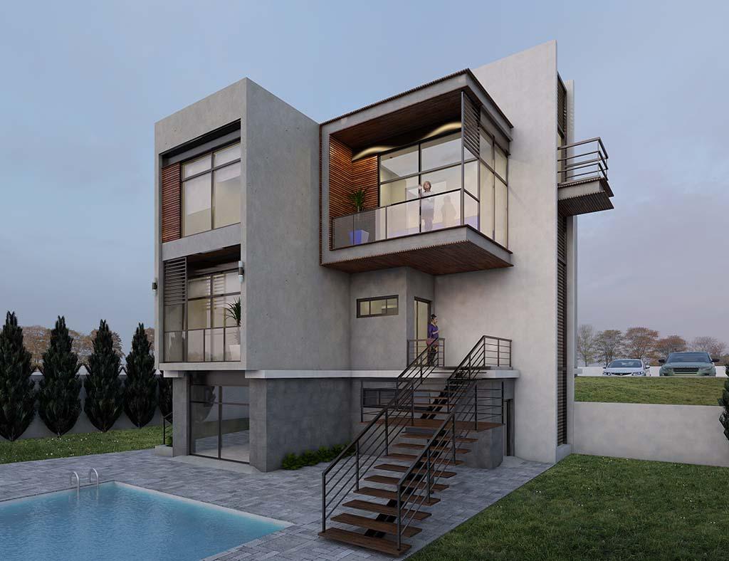 Diseño construccion casa ROMERA 1