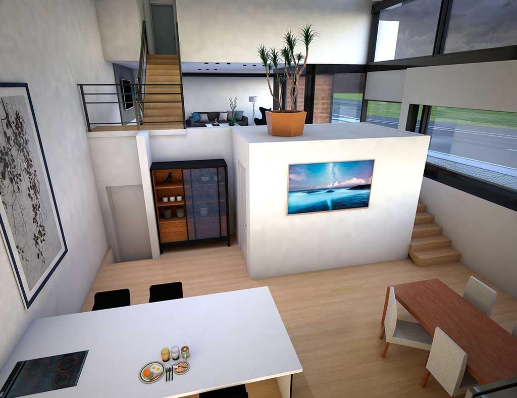 Diseño construccion casa ZAMARA 4