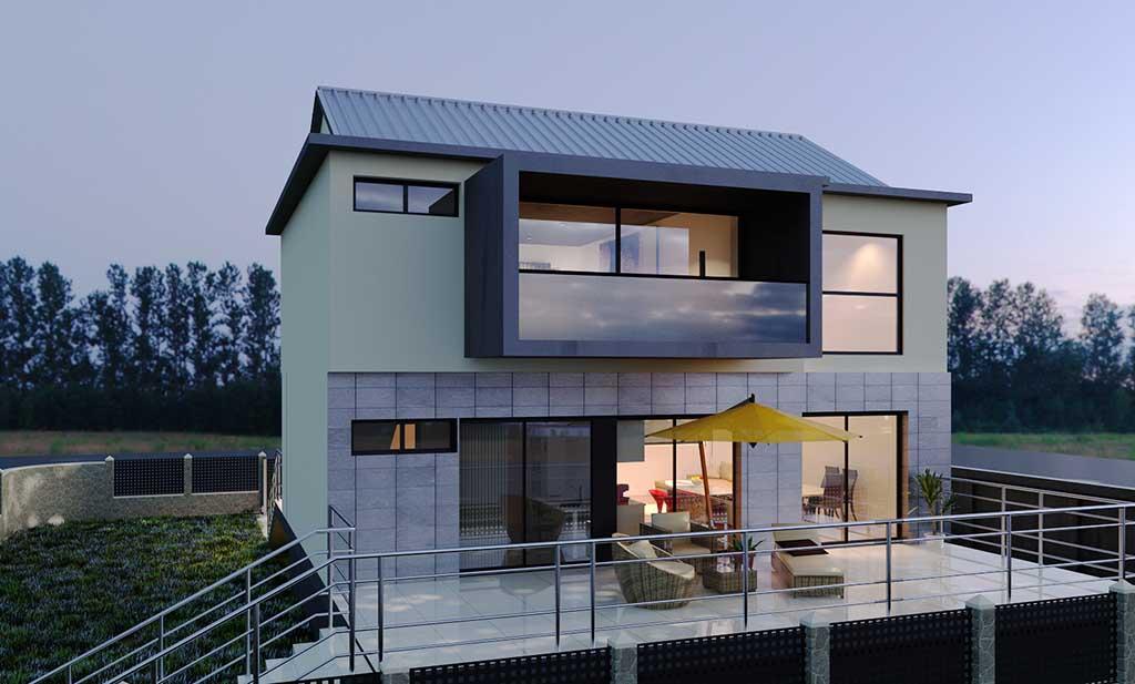 Diseño construccion casa ZANCAL 2