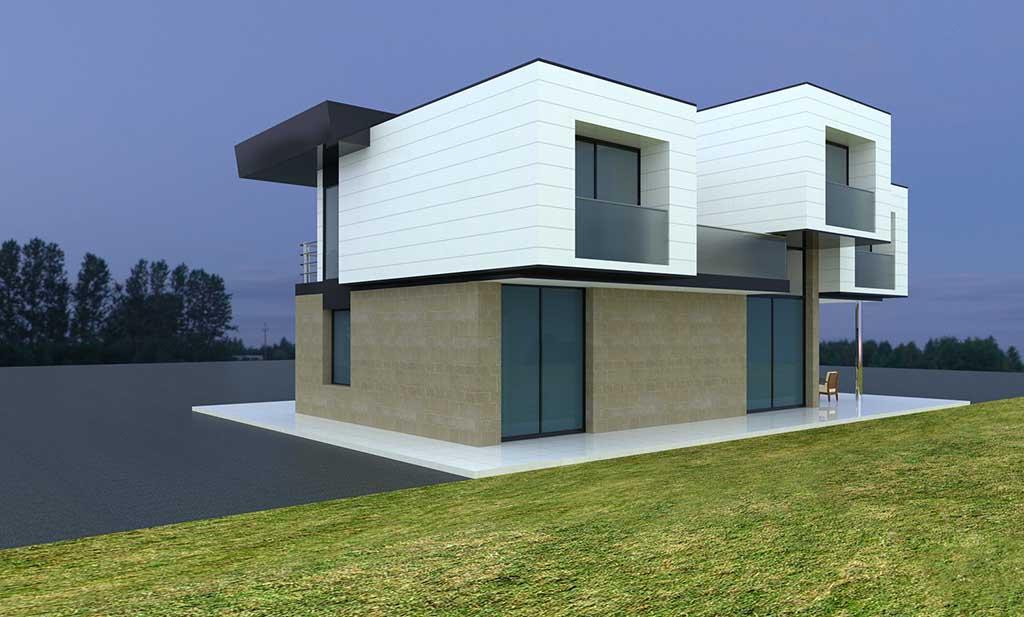 Diseño construccion casa ZEPDAS 2
