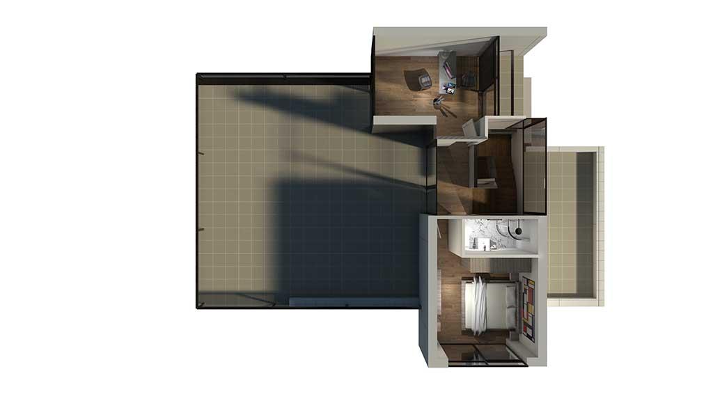 Diseño construccion casa ZOWEN planta primera