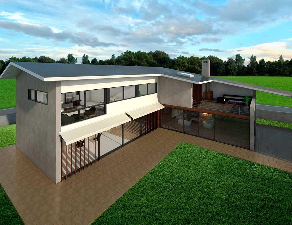 diseño construccion Casa ACALIA 1