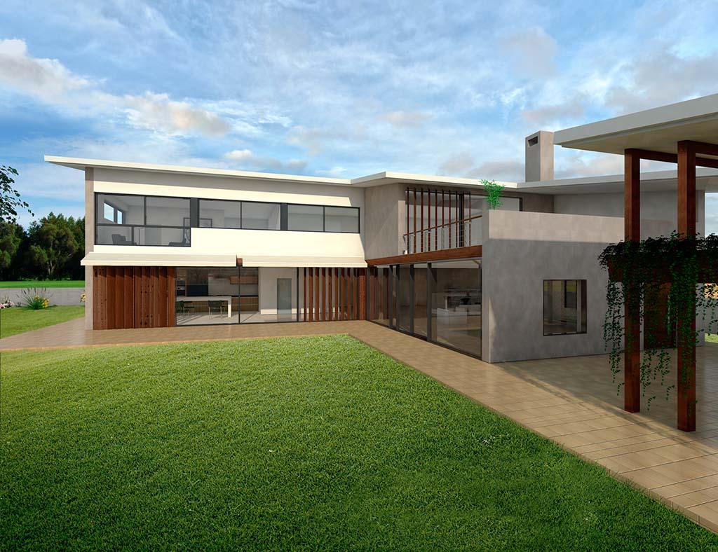 diseño construccion Casa ACALIA 2