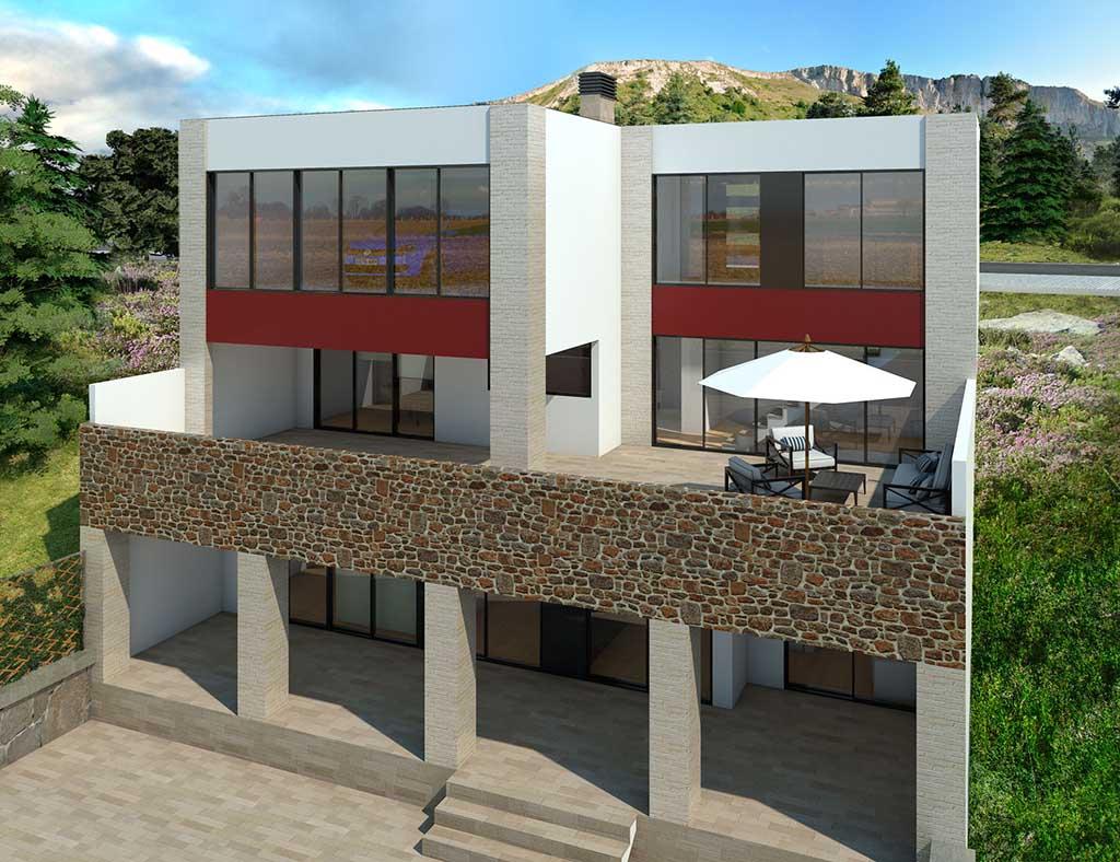 diseño construccion Casa ACHIALIA 2