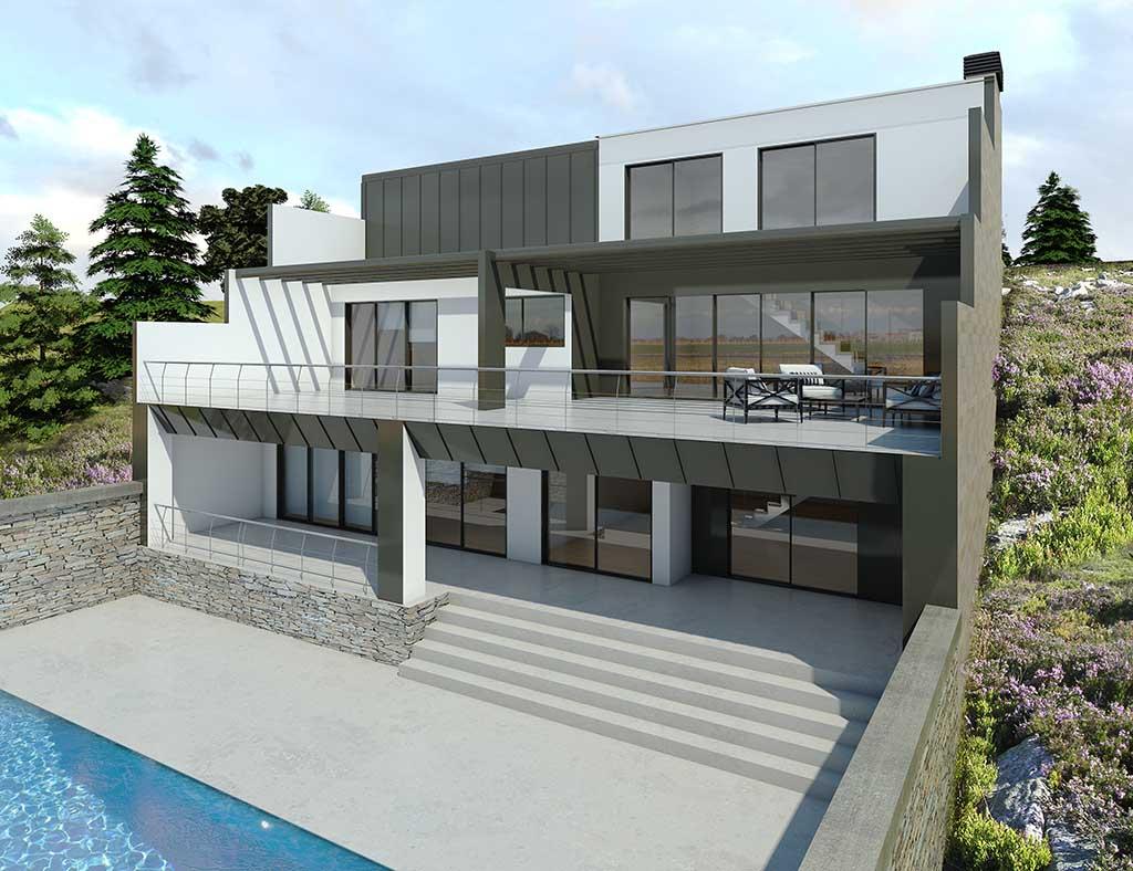 diseño construccion Casa ADAMIS 1