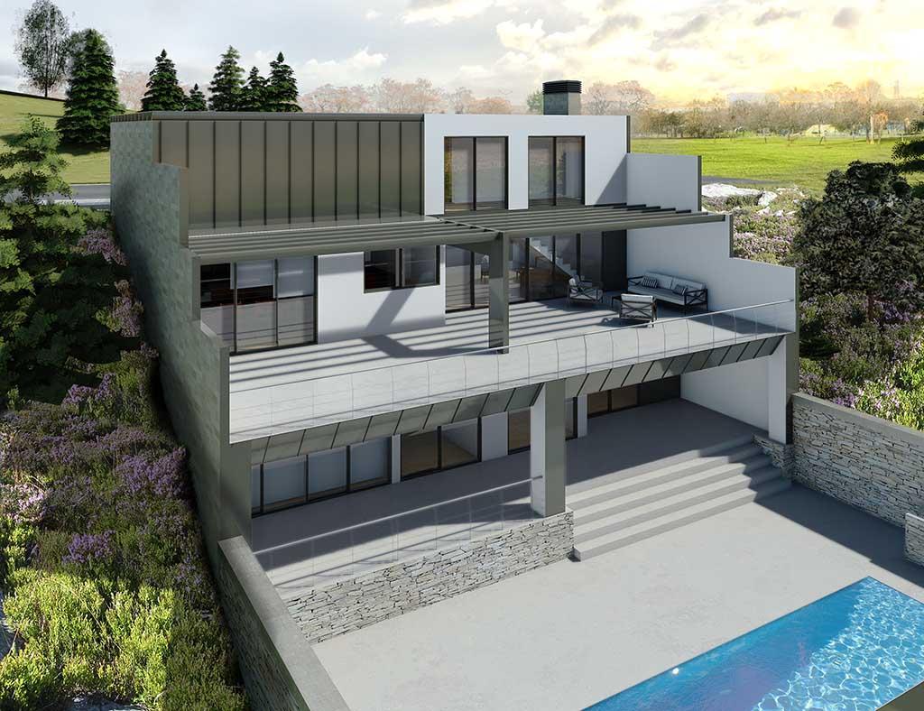 diseño construccion Casa ADAMIS 2