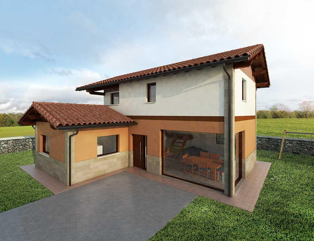 diseño construccion Casa ADLEON 1
