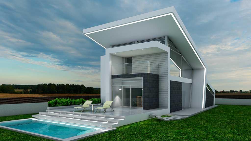 diseño construccion Casa AGLARAY 1