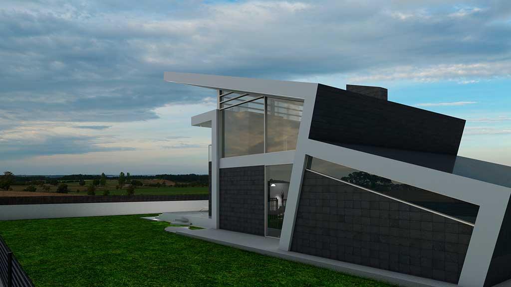 diseño construccion Casa AGLARAY 2