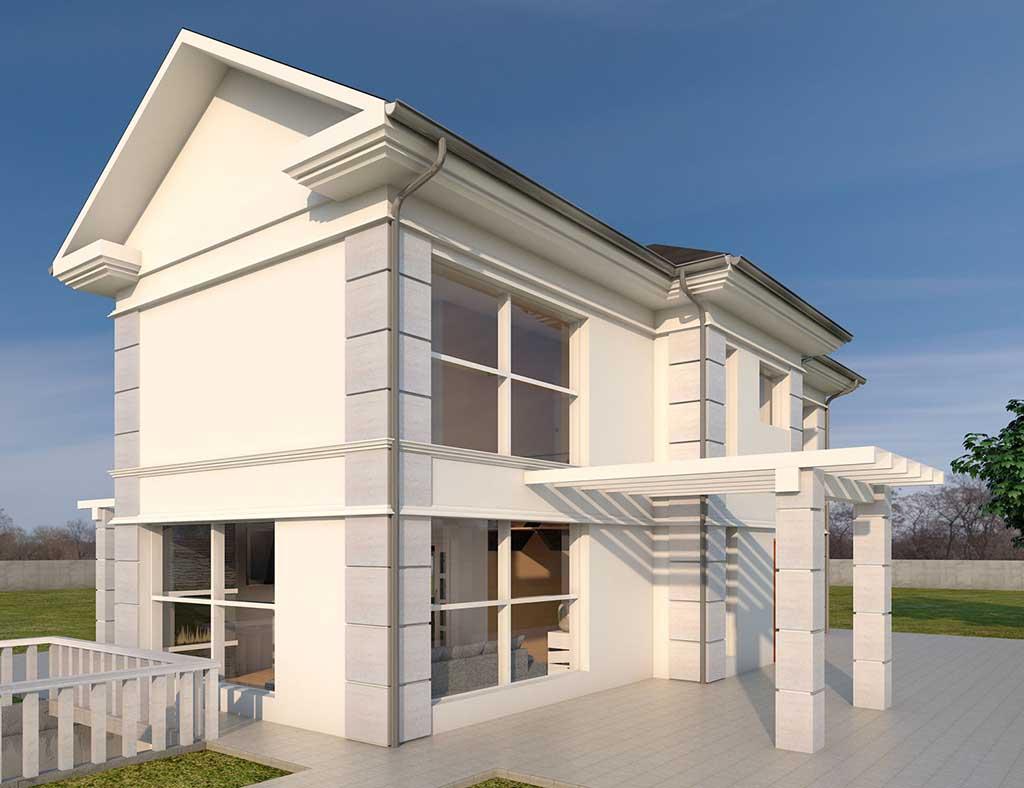 diseño construccion Casa AIRLIA 1