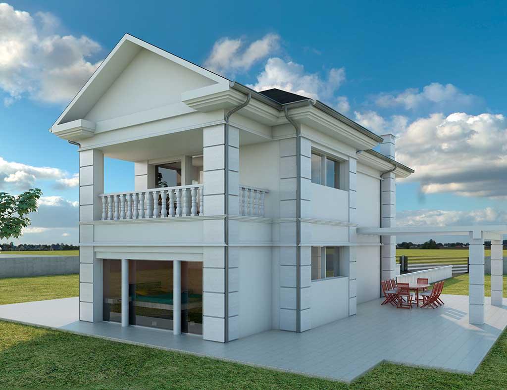 diseño construccion Casa AIRLIA 2