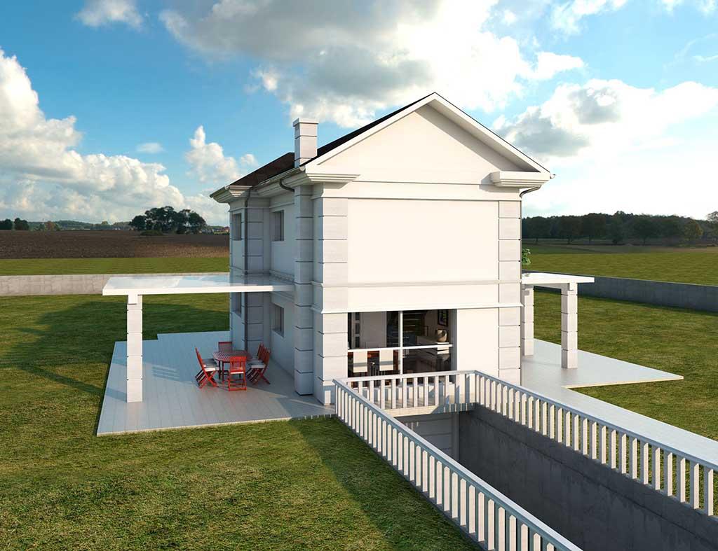 diseño construccion Casa AIRLIA 3