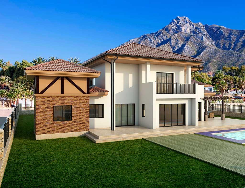 diseño construccion Casa ALCAM 1