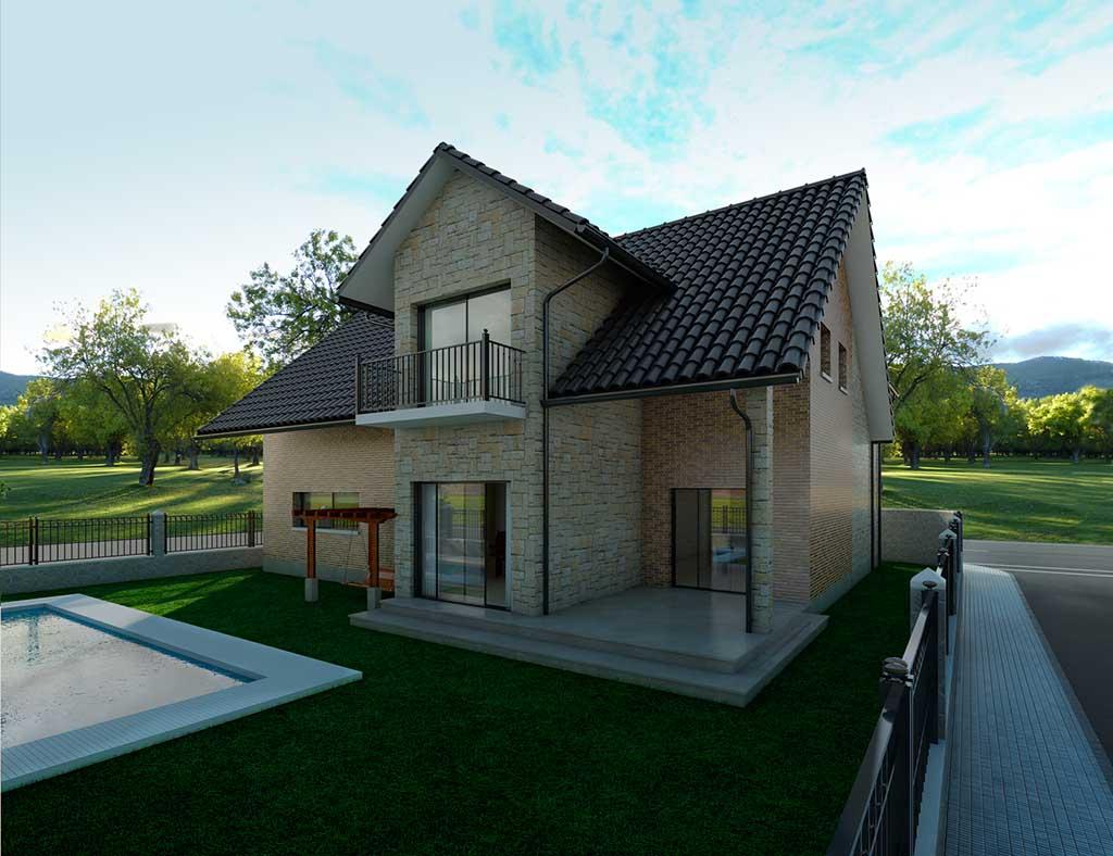 diseño construccion Casa DELFUS 2
