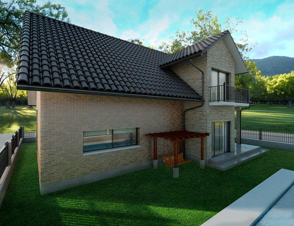 diseño construccion Casa DELFUS 3