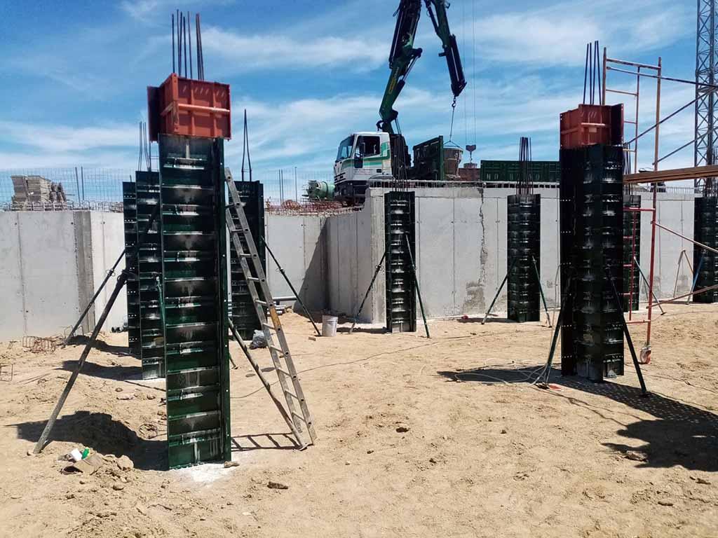 001 Obra construccion casa arrollomolinos madrid