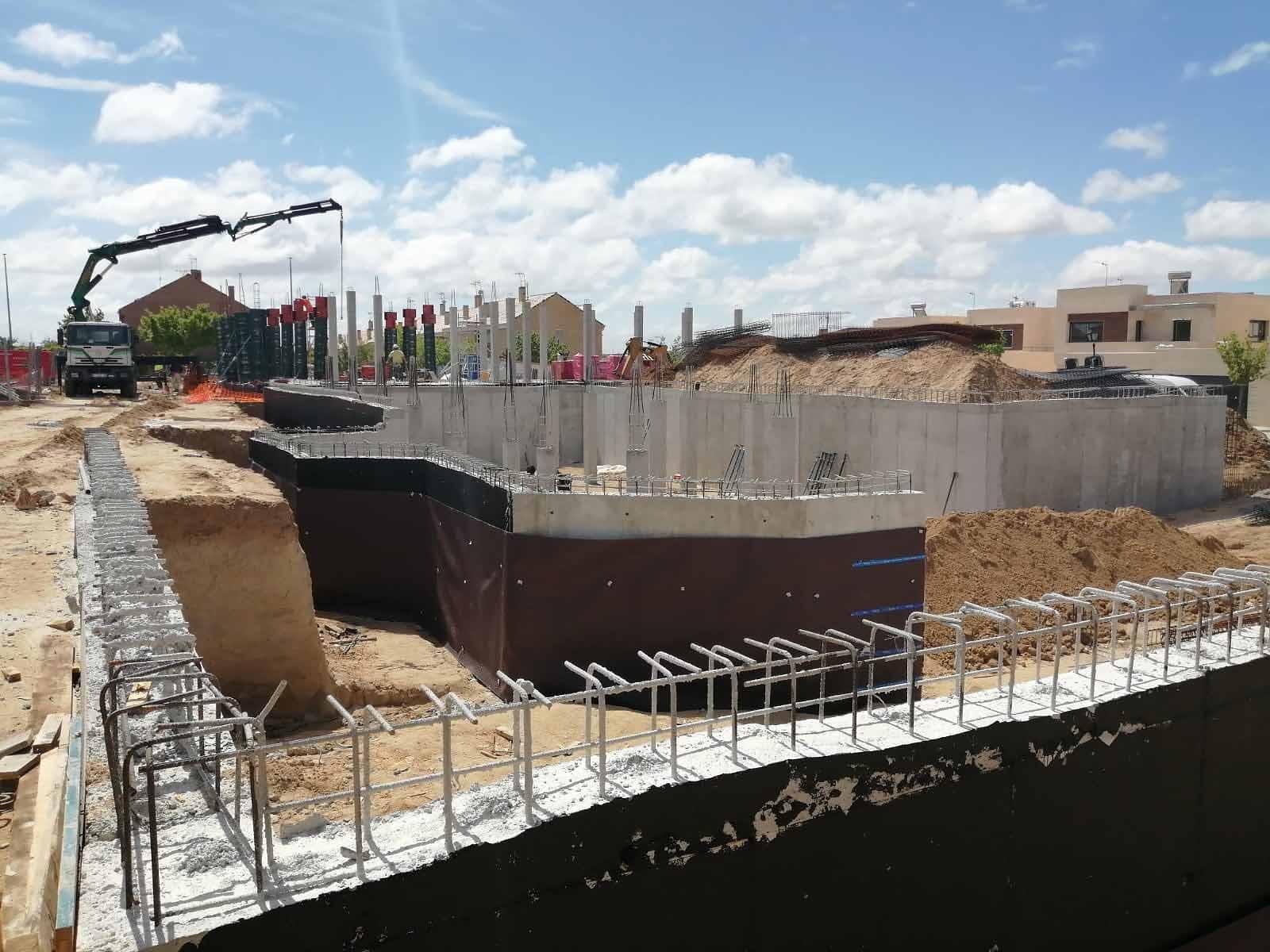 003 Obra construccion casa arrollomolinos madrid