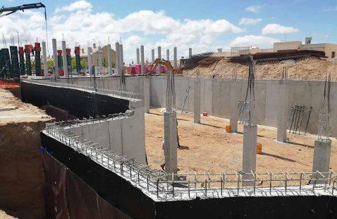 Obra construcción chalet Madrid