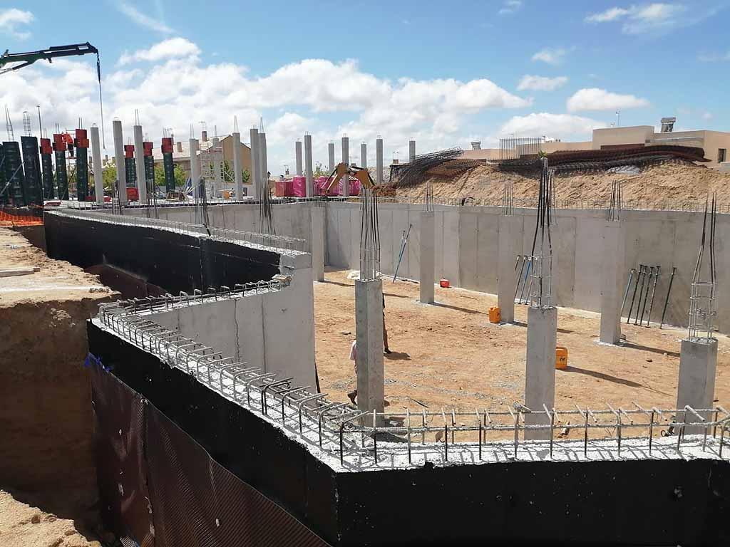 004 Obra construccion casa arrollomolinos madrid